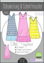 Cillia Knoten-Kleid Damen
