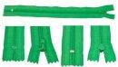 Reissverschluss 19 cm grasgrün