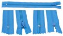 Reissverschluss 19 cm blau